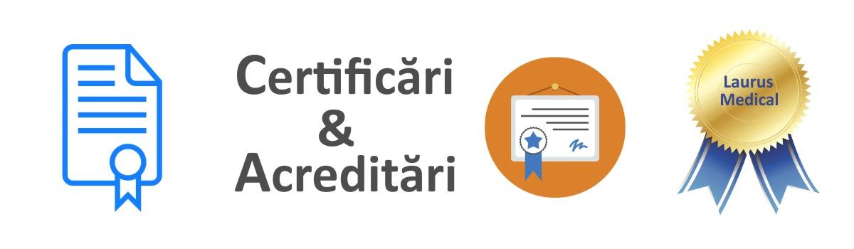 certificari laurus medical