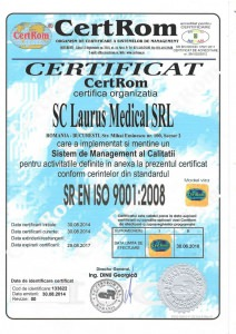 certificare iso laurusmedical